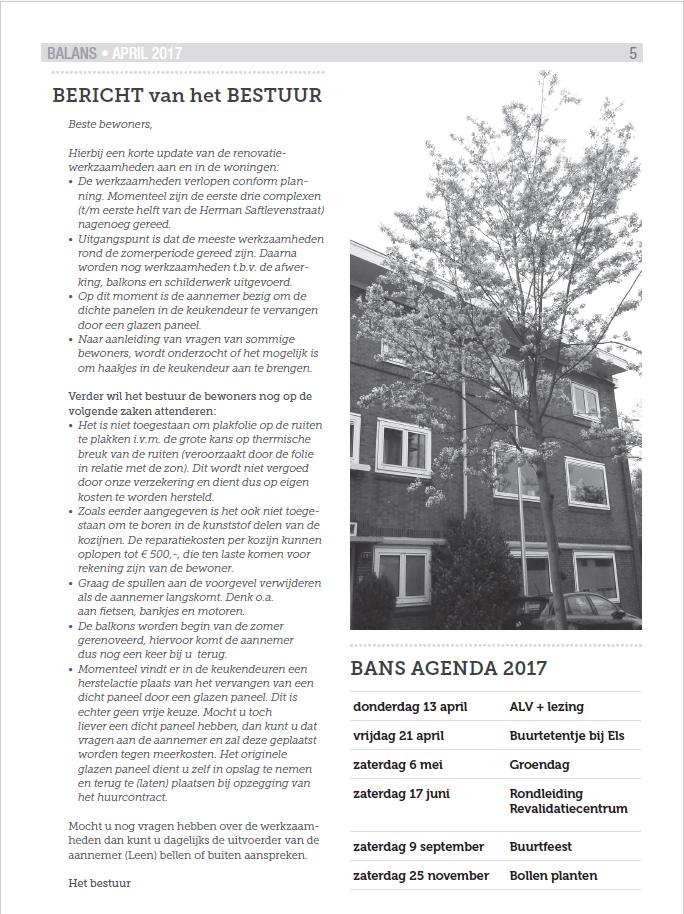 Balans Maart 2017
